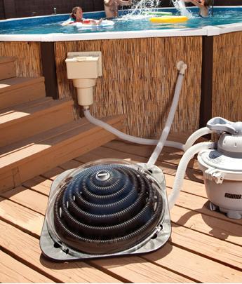 R chauffeur piscine solaire solar pro distripool for Installation chauffe eau solaire piscine