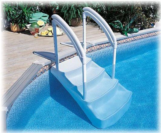 escalier piscine la voie royale distripool. Black Bedroom Furniture Sets. Home Design Ideas