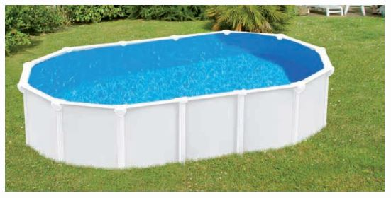 Liner piscine ovale compatible abak trigano distripool for Piscine abak