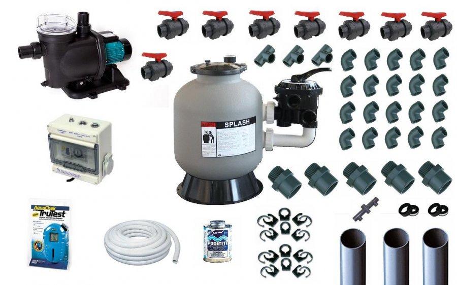 Filtration image 50 for Pack filtration piscine