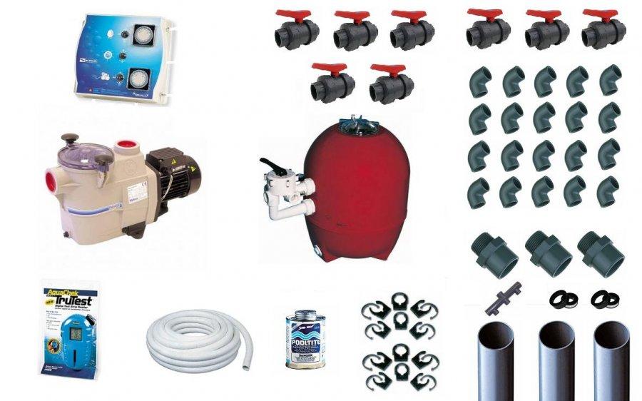 kit filtration piscine prestige 10 m3 h kripsol distripool