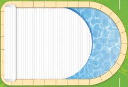 Le volet roulant est il adapt toutes les formes de for Volet roulant piscine ovale