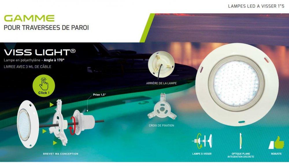 Wa conception lampe led piscine design de maison for Wa conception piscine