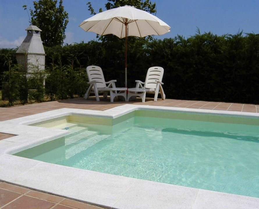 Liner piscine 75 100 me sable for Piscine avec liner beige