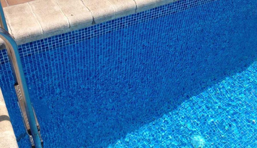 Liner piscine 75 100 me persia bleu for Liner pour piscine sur mesure