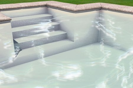 Liner piscine 75 100 me sable for Liner sable piscine