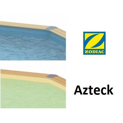 Liner piscine bois azteck zodiac distripool for Acheter liner piscine