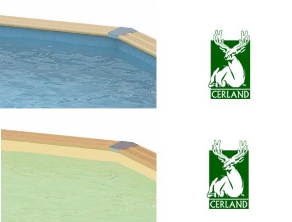 Liner pour piscine bois cerland distripool for Piscine bois blanc