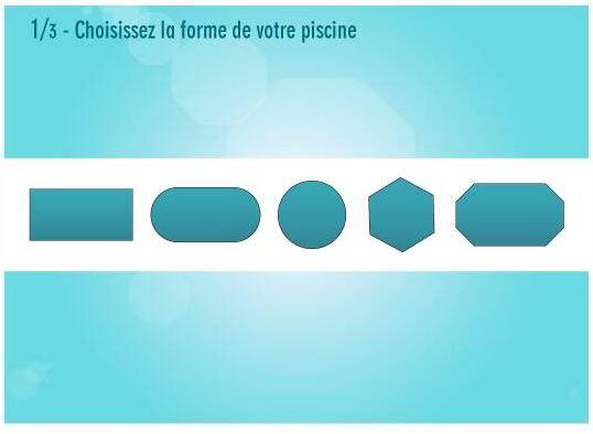 Liner piscine hors sol 75 100 me overlap for Piscine hors sol forme haricot