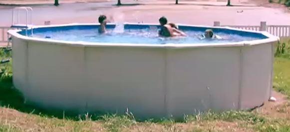 liner piscine hors sol 75 100 me overlap