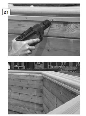Liner piscine bois gardipool distripool for Pose liner piscine bois octogonale