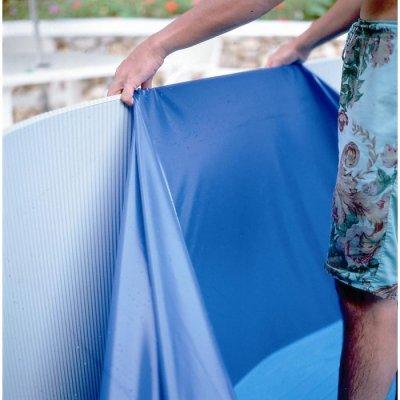 Liner piscine hors sol gr pool distripool for Accrochage liner piscine