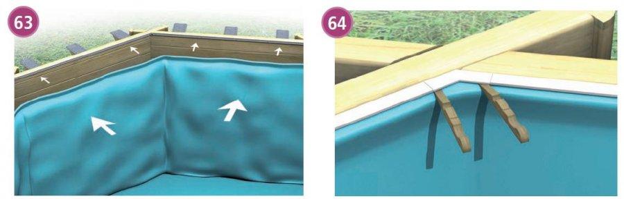 liner pour piscine bois cerland distripool. Black Bedroom Furniture Sets. Home Design Ideas