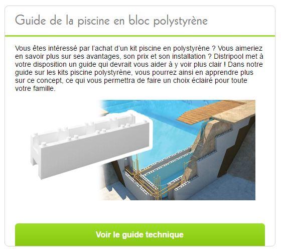 Piscine en kit polystyr ne premium rectangulaire distripool for Kit piscine polystyrene