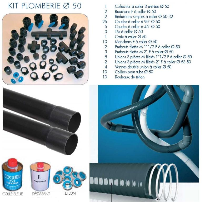 Piscine en kit polystyr ne premium carr distripool for Devis liner piscine sur mesure