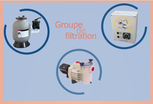 Piscine en kit construction traditionnelle beton eco for Kit filtration piscine