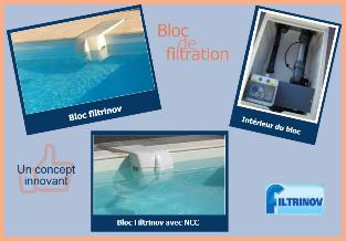 Piscine en kit polystryr ne bloc filtrinov distripool - Bloc filtration piscine ...