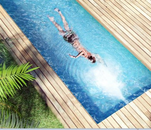 Kit piscine polystyr ne apollon distripool for Piscine a contre courant prix