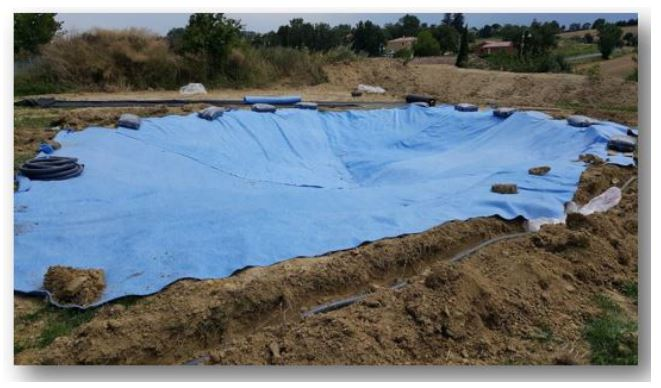 Mini piscine caoutchouc de 30 m avec plage for Piscine coque pose comprise
