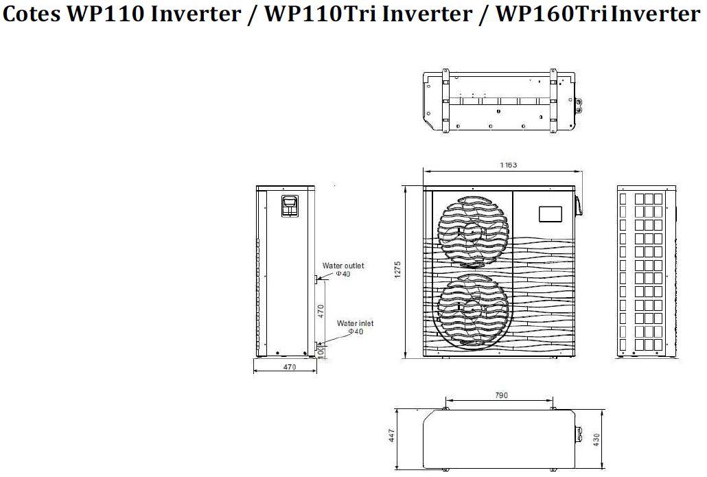 Pompe chaleur warmpac inverter distripool for Air dans pompe piscine
