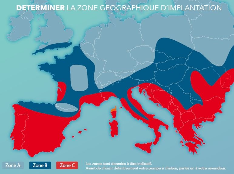 zone geographique pac france