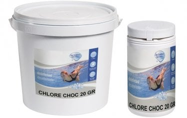 Traitement chlore choc distripool for Traitement de choc piscine