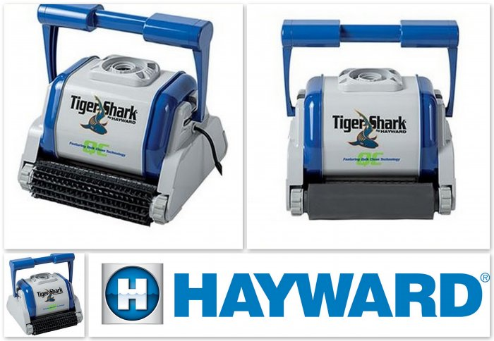 Robot piscine tiger shark hayward distripool for Avis robot piscine tiger shark