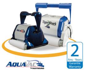 Robots aspirateurs lectriques zodiac et dolphin pour piscine for Avis robot piscine tiger shark