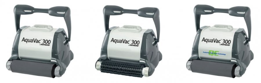 Robot piscine aquavac 300 hayward distripool for Avis robot piscine tiger shark