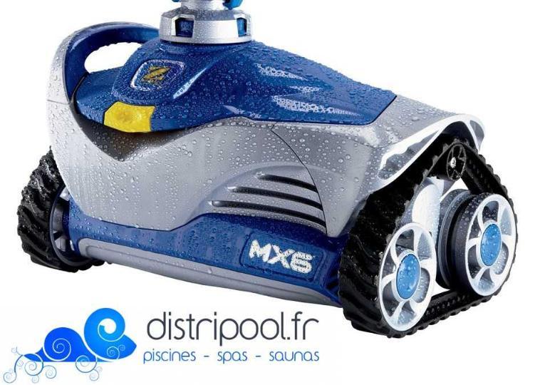 Robot piscine hydraulique mx6 zodiac zodiac for Piscine hors sol zodiac kd plus