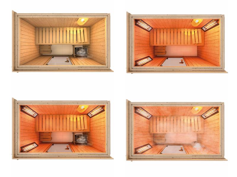 sauna syst me 68 mm variado. Black Bedroom Furniture Sets. Home Design Ideas