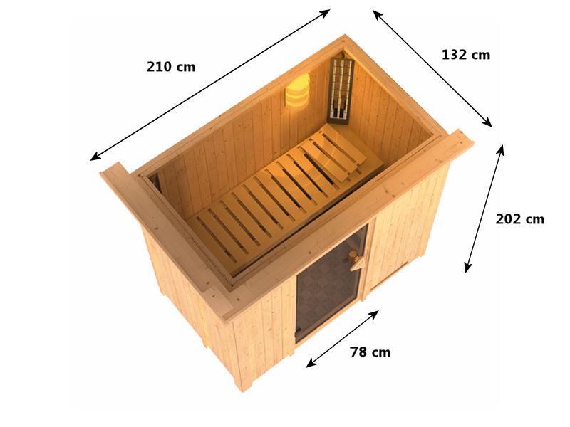 Sauna syst me 68 mm variado - Plan sauna finlandais ...