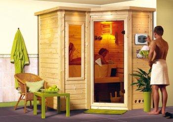 sauna bois massif 40 mm SAHIB