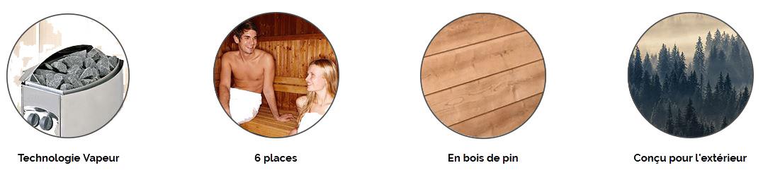 Sauna Barrel banniere