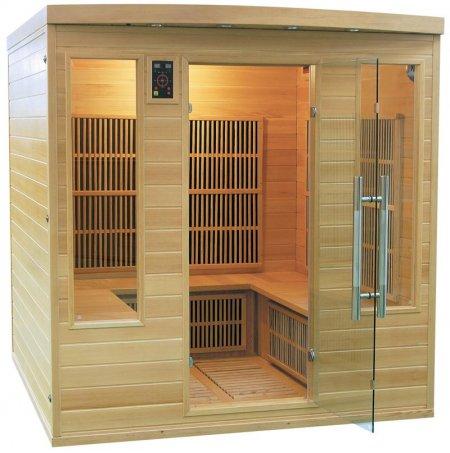 Sauna infrarouge apollon club 5 places france sauna - Sauna exterieur infrarouge ...