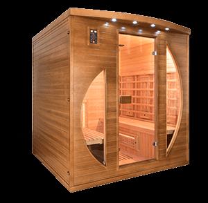 sauna infrarouge spectra distripool. Black Bedroom Furniture Sets. Home Design Ideas