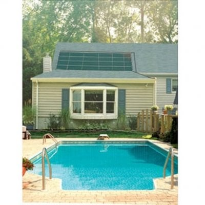 Chauffage solaire pour piscine enterr e sunheater scp - Chauffage solaire piscine enterree ...