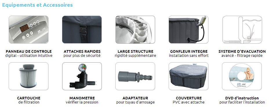 amazing accessoire spa gonflable mspa 4 accessoire alpine 6 places jpg. Black Bedroom Furniture Sets. Home Design Ideas
