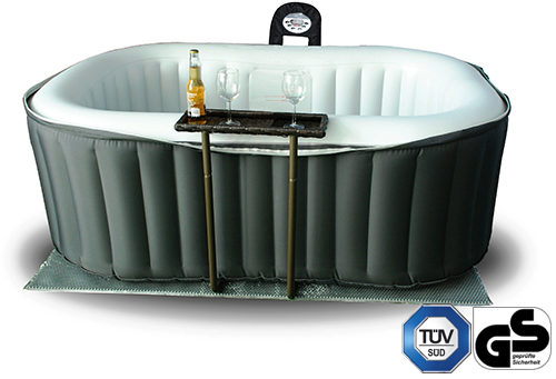 Spa gonflable alpine lite mspa distripool - Spa gonflable 2 personnes ...