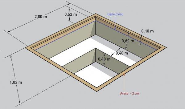 spa en kit spa b ton sur mesure. Black Bedroom Furniture Sets. Home Design Ideas