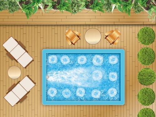 piscine en kit polystyr ne luxe baln o et ncc distripool. Black Bedroom Furniture Sets. Home Design Ideas