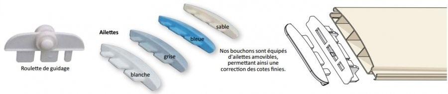 Remplacement tablier volet roulant amovible